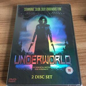Underworld DVD (2003, 2 Disc Set) NEW & SEALED Region 2 UK Kate Beckinsale