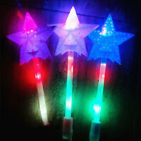 LED Magic Star Wand Flashing Lights up Glow Sticks Party Concert Christmas Gift