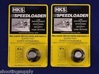2 Pack HKS 36-A Speed Loader 38/357 Mag Fits S&W Taurus 2Pk 36-A