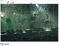 The Cure SIGNED Photo 1st Generation PRINT Ltd 150 + Certificate / 1