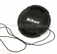 TAPPO FRONTALE COPRI OBIETTIVO A FRONTALE 77 mm COMPATIBILE NIKON LENS CAP