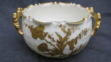 Antique American Belleek Willets Twig Handle Sugar Bowl