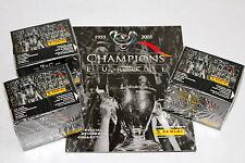 Panini CHAMPIONS OF EUROPE 2005 - 3 x DISPLAY BOX sealed/OVP + Leeralbum ALBUM