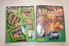 BLISTER: ALBUM DE CROMOS ANIMALES PREFERIDOS + 50 SOBRES. PANINI STICKER  PACKS