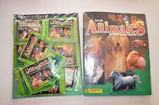 BLISTER: ALBUM DE CROMOS ANIMALES PREFERIDOS + 50 SOBRES. PANINI STICKER  PACKS