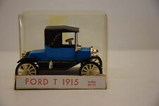 FORD T 1915 MINIALUXE VINTAGE REF 11 1/43 NEW CANNED