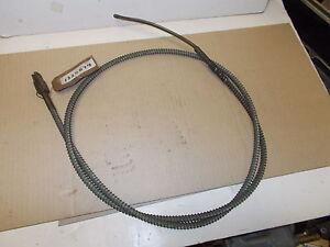 Mopar NOS Hand Brake Control Cable 51 DeSoto, Chrysler 6Cyl. Early Models