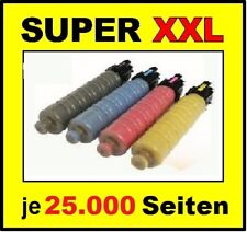 4 x Toner für RICOH Aficio MP C3503 C3003 C3004 C3504 / Cartridge 841817 -841820