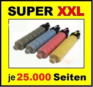 4 x Toner für RICOH Aficio MP C3503 C3003 C3004 C3504 / Cartridge 841817 -841820