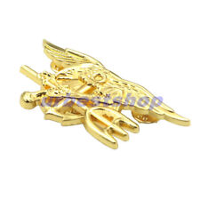 US NAVY SEAL EAGLE ANCHOR TRIDENT METAL BADGE INSIGNIA Special Warfare New