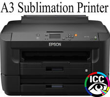 EPSON A3 SUBLIMATION PRINTER WITH REFILL CARTRIDGES - SUB TRANSFER INK BUNDLE