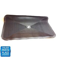 1961-77 Buick Accessory Rubber Trunk Mat - Black OEM GM # 981403