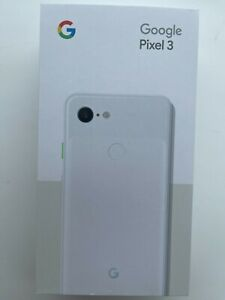 Brand New Sealed Google Pixel 3 GA00641-US G013A 64GB Clearly White