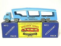 Matchbox Lesney Accessory Pack A-2a Bedford 'S' Type Car Transporter In 'B1' Box