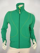 LULULEMON GREEN REVERSIBLE ZIP FRONT L/S THUMB HOLE JACKET WOMEN'S 6 MINT
