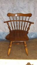 Maple Ethan Allen Swivel early american desk Chair, Dinette Chair or Sidechair
