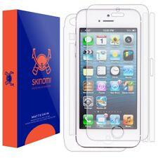 Skinomi (MATTE) FULL BODY Skin+Screen Protector For Apple iPhone 5S / SE