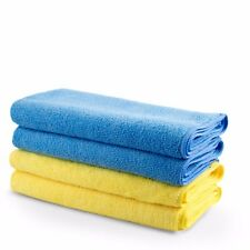 Microfibre Cloths 4 pack Greased Lightning Premium Ultra Absorbant & Heavy Duty