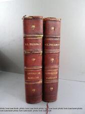 Alexis Pierron histoire de la littérature romaine et de la littérature grecque