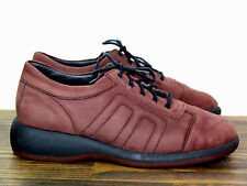 KASTNER WEITE H BROWN ALL GENUINE LEATHER SUEDE SPORT SNEAKER LACE UP SHOES 9M