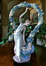 """~Very Large 16.50"""" Lladro """"Rebirth"""" Mother and Baby (6571 Original Box With COA)"""