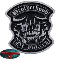 BROTHERHOOD OF BIKERS Pin Anstecker Anstecknadel Chopper US Harley Forever 1% V2