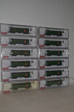 Roundhouse 977 REA 50' Express Reefer 12 Car Set N Scale