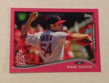 2014 Topps Mini JAIME GARCIA Pink #16/25 Made Cardinals #164 Online Exclusive