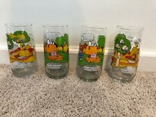 Vintage McDonald's Peanuts Camp Snoopy Collection (Qty 4) 16 Ounce Glasses