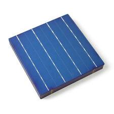10PCS 6x6 Poly Solar Cell 10W 100W 1000W 156x156 Polycrystalline DIY Panel 4.4W