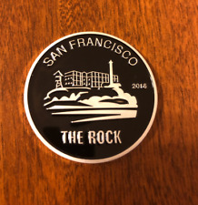 Fernet Branca San Francisco 2016 THE ROCK Coin with DISPLAY CASE