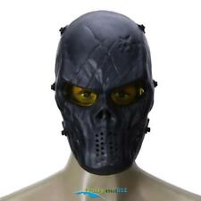 Explosion Proof PC Lens Skeleton Army Airsoft Paintball Full Face Protect Mask