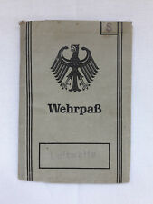 Wehrpass Luftwaffe German 1963 Extra documents Original