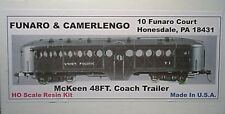 Funaro F&C HO  McKeen Trailer , One piece Body,  Kit  704