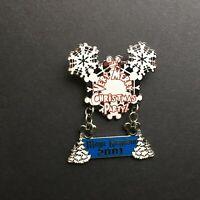 Mickey's Very Merry Christmas 2001 #2 - Snowflake Dangle LE 5000 Disney Pin 8549