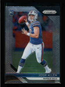 JOSH ALLEN 2018 PANINI PRIZM #205 BUFFALO BILLS BASE ROOKIE RC FC8875
