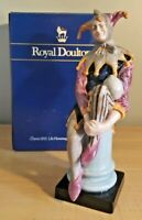 RETIRED ROYAL DOULTON THE JESTER HN 2016 HAND PAINTED ENGLISH PORCELAIN FIGURINE
