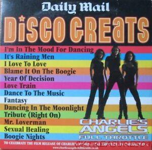 DISCO GREATS CD AUDIO BOOGIE NIGHTS RAINING MEN ORIGINAL ARTISTS NOLANS
