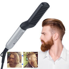 Electric Beard Straightening Brush Hair Comb with Dual Voltage 110-240V UK