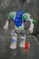 1994 Tyco Battle Tech HUNCHBACK with PYTOR Figure NEAR COMPLETE  W/Free Shipping