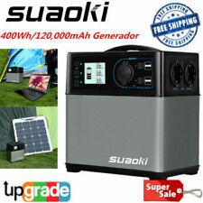 Suaok U3 Caricatori per batterie Auto 400A Peak Portatile Jump Starter Batteria