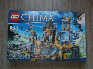LEGO CHIMA 70010 LE TEMPLE DE LA TRIBU LION EN BOITE TBE