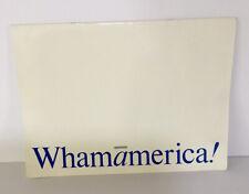 Wham! George Michael Whamamerica! 24 Color Pages Concert Program MINT Condition