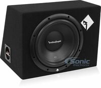 "Rockford Fosgate R1-1X10 Prime R1 400W 10"" Loaded Sealed Car Subwoofer Enclosure"