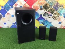 Bose Acoustimass 3 Series IV Speaker System Black & 2x Double Cube Speakers 1