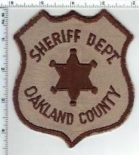 Oakland County Sheriff (Michigan) 1st Issue Uniform Take-Off Shoulder Patch