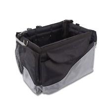 Folding Pet DogTravel Booster Bag Dog Cat Bike Seat Carrier Basket +Safety Belt