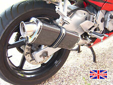 Honda CBR600 F1-F6 01-06 SP Engineering Carbon Tri-Oval Big Bore XLS Exhaust