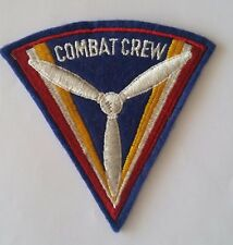 Patch Combat air crew Air Force USAAF WW2 - ORIGINAL RARE