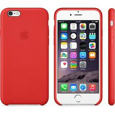 Genuine ufficiale Apple iPhone 6/6 S Custodia in pelle-Rosso-MGR82ZM/A
